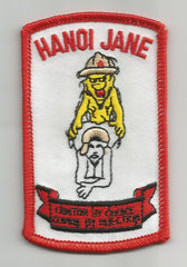 HANOI JANE TRAITOR BY CHOICE VIETNAM MILITARY PATCH