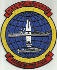 USS Holland AS-32 Submarine Tender Military Patch POSEIDON PRO PACE