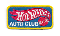 Hot Wheels Auto Club Vintage Sew On Patch