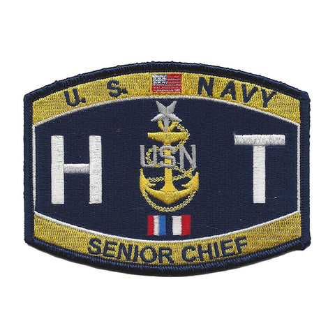 Senior Chief Hull Technician Rating Navy Military Patch HTCS
