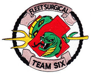 NAVY Fleet Surgical Team Six Military Patch