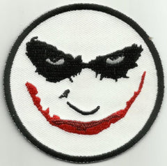 """WHY SO SERIOUS?"" JOKER FACE PATCH"