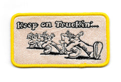 Keep On Truckin'... Vintage Patch