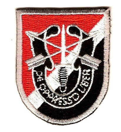Us Army Ranger Special Forces Military Patch Flash Patch Crest