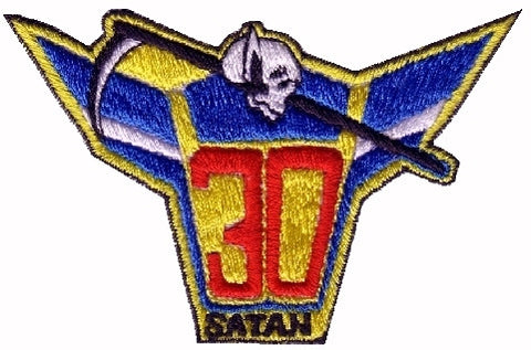 AC-130 Gunship 30 Satan MILITARY PATCH Insignia USAF