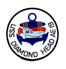 AE-19 USS DIAMOND HEAD AMMUNITION SHIP MILITARY PATCH