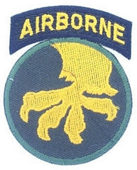 17th AIRBORNE DIVISION MILITARY PATCH