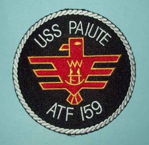 USS PAIUTE ATF 159 FLEET TUG MILITARY PATCH - US NAVY