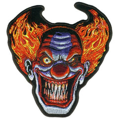 "ANGRY CLOWN ( 5"" ) BIKER MOTORCYCLE JACKET VEST PATCH"