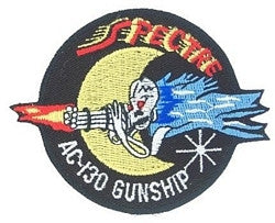 US Airforce AC-130 GUNSHIP Military Patch