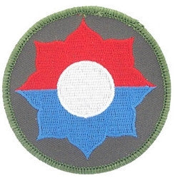 ARMY 9th INFANTRY DIVISION - MILITARY PATCH