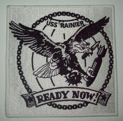AE-5 USS Rainier Ammunition Ship Military Patch READY NOW