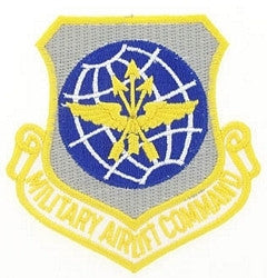 AIR FORCE AIR LIFT COMMAND MILITARY PATCH