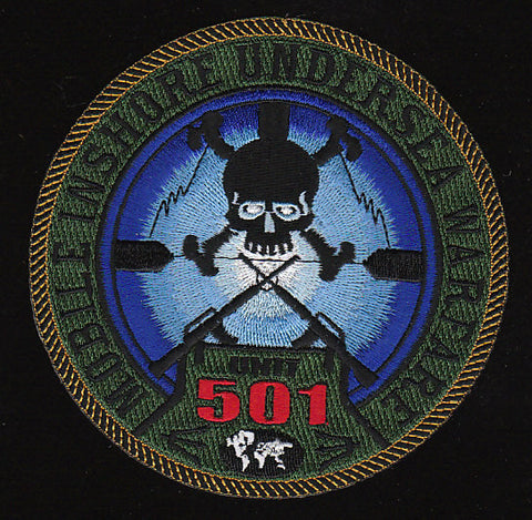 US Navy MIUW-501 Mobile Inshore Underwater Warfare MILITARY PATCH