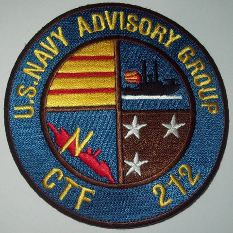 US NAVY ADVISORY GROUP CTF 212 MIITARY PATCH