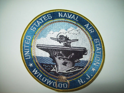 US NAVAL AIR STATION WILDWOOD, N.J. MILITARY PATCH