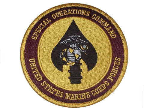 USMC FORCES SPECIAL OPERATIONS COMMAND MILITARY PATCH