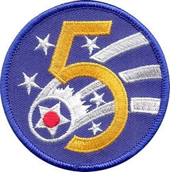5th AIR FORCE MILITARY PATCH