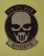 5th SFG GRAW GHOSTS - RECON SPECIAL FORCES GROUP - VELCRO MILITARY PATCH