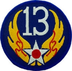 USAF - 13th AIR FORCE PATCH