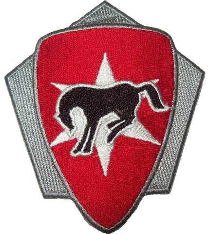 ARMY 6th CAVALRY BRIGADE UNIT CREST MILITARY PATCH