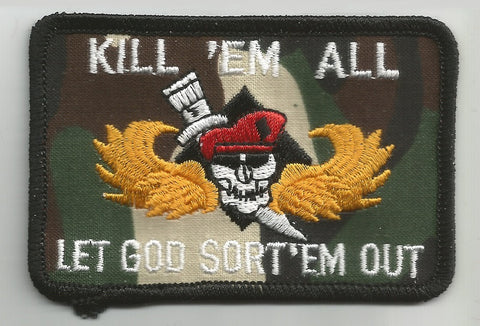KILL 'EM ALL LET GOD SORT 'EM OUT MILITARY MORALE PATCH