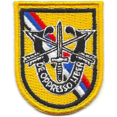 1st SPECIAL FORCES Airborne Korea DUI Beret Flash ARMY Military Patch