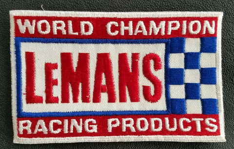 LEMANS World Champion Racing Products Sew-On Vintage Patch