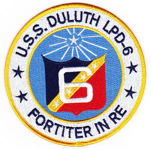 LPD-6 USS DULUTH Austin-Class Amphibious Transport Dock Military Patch