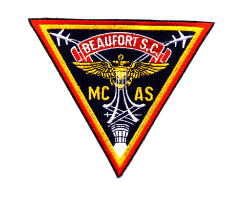 US MARINE CORPS AIR STATION Beaufort South Carolina Military Patch