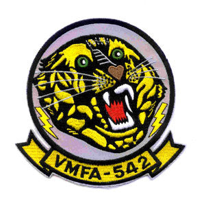 "VMFA-542 U.S. MARINE Corps Fighter Attack Squadron ""TIGERS"" Military Patch"
