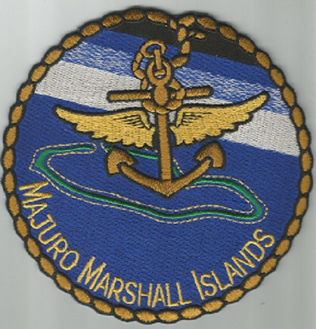 US NAVY - MAJURO MARSHALL ISLANDS MILITARY PATCH