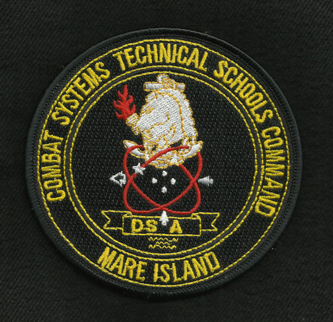 Combat Systems Technical Schools Command Mare Island CSTSC Military Patch
