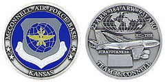 McCONNELL AIR FORCE BASE Challenge Coin