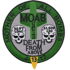 MOAB - Mother Of All Bombs - Death From Above Morale Patch