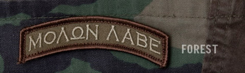 MOLON LABE Rocker Tab Hook Backing Patch - Forest