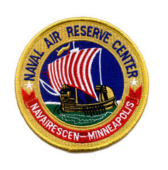 US NAVAL AIR RESERVE CENTER MINNEAPOLIS Minnesota Military Patch