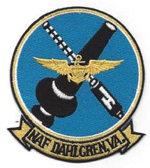 NAVAL AIR FACILITY NAF DAHLGREN VIRGINIA VA MILITARY PATCH