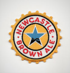 New Castle Brown Ale Biker Patch