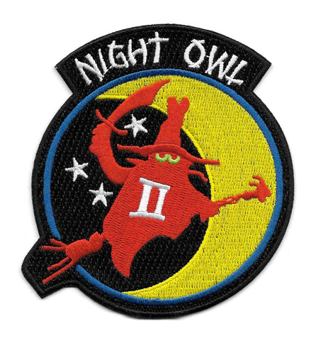 F-4 Phantom II Spook NIGHT OWL Fighter Military Patch