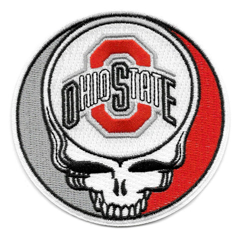 Steal Your Face Ohio State Dead Head Skull Patch