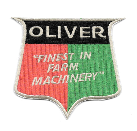 OLIVER Tractors Vintage Style Patch