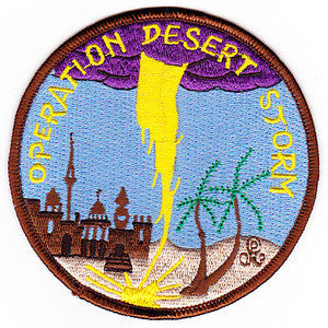 OPERATION DESERT STORM Coalition Forces Liberation of Kuwait from Iraqi Forces Military Patch