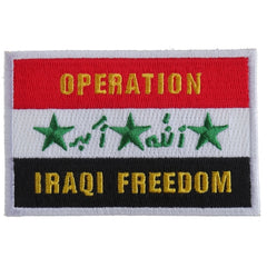 Operation Iraqi Freedom Iron On Patch