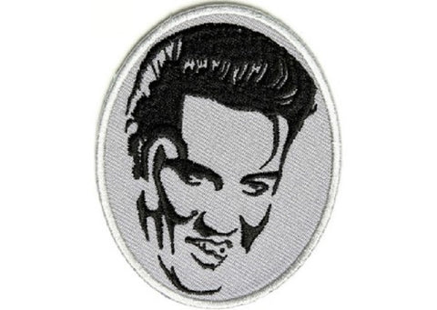 "ELVIS PRESLEY ""The King"" Biker Jacket Patch"