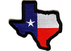 TEXAS USA FLAG PATCH