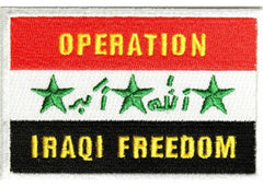 OPERATION IRAQI FREEDOM MILITARY PATCH