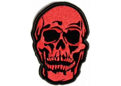 RED BARON DEATH SKULL PATCH