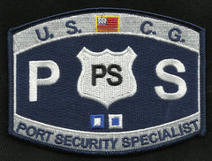 United States COAST GUARD USCG RATING Port Security Specialist Military Patch - PS