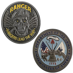 Rangers Lead The Way Challenge Coin